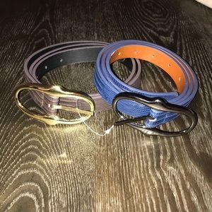 Steve Madden Belts *Set of 2*